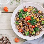 Ensalada de quinoa como superalimento