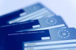 tarjetas sanitarias de la Unión Europea