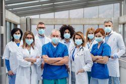 sanitarios contagiados