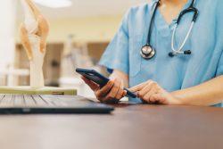 Móvil en la asistencia sanitaria