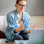 paciente en consulta de psicología online