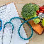 dieta sana y medidor de azúcar