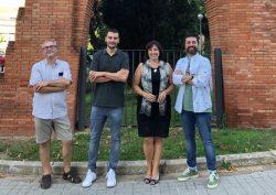 Científicos de la Universidad de Barcelona que investigan una nueva diana farmacológica contra el alzhéimer.