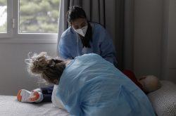 enfermeras y auxiliares de enfermería