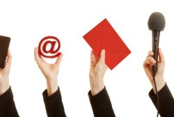 vías de comunicación interna y externa