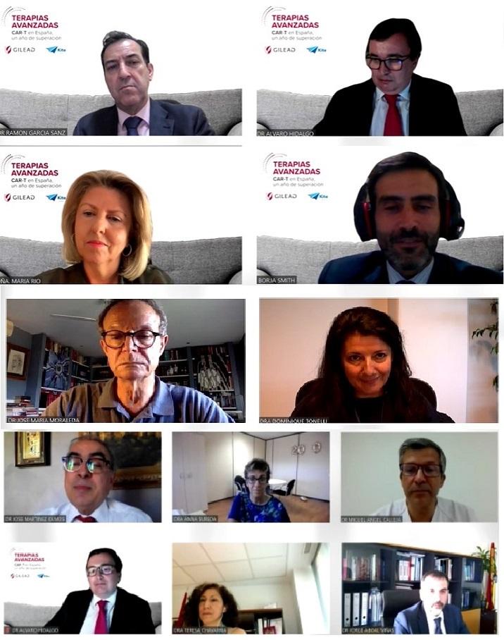 Imagen de todos los participantes en la jornada.