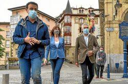 Idoia Mendia, también pone la Sanidad en el centro de las elecciones vascas