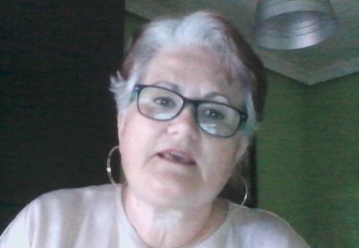 Inmaculada Mediavilla, presidenta de la SECA, durante su intervención.