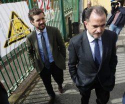 Iturgaiz con Casado poniendo a la sanidad en el centro de las elecciones vascas