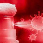 Spray antiviral