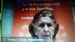 Teresa Oñate en el encuentro de salud mental donde se resumió que la pandemia del futuro se llama depresión