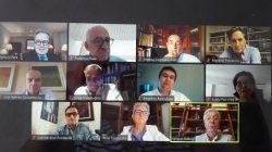Especialistas hospitalarios en la webinar de Bamberg