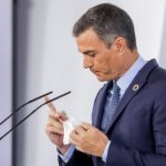 Pedro Sánchez en la declaración institucional tras el Consejo de Ministros
