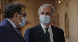 Enrique Ruiz Escudero habla del consenso con los MIR de Madrid.