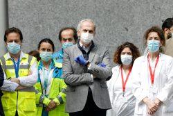 Ruiz Escudero, consejero de Sanidad de Madrid, donde se harán pruebas PCR de forma aleatoria.