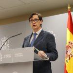 Salvador Illa, candidato del PSC en las elecciones catalanas.