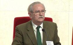 Serafín Romero, presidente del Consejo General de Colegios Oficiales de Médicos.