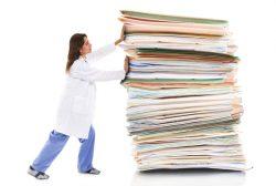 burocratización del trabajo de los médicos
