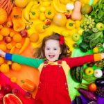 dieta vegetariana niños