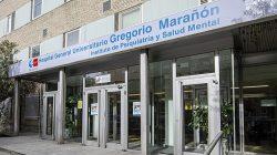 Edificio de Psiquiatría del Hospital Gregorio Marañón