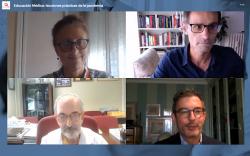 Los ponentes del encuentro virtual de la Fundación Lilly