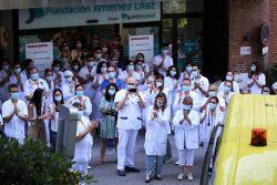 movilización sanitarios madrileños