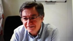 Bernardo De Quirós en el encuentro de la Academia de Farmacias