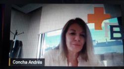 Concha Andrés en el encuentro salud digital de Bamberg