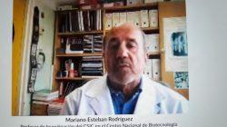 El doctor Esteban Rodríguez en el coloquio de la Fundación Areces y la Academia de Farmacia
