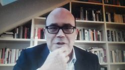 Javier Urzay, en el encuentro