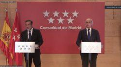 """Madrid acata la orden Ministerial """"con tranquilidad"""", según han dicho los consejeros de Justicia y Sanidad."""