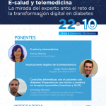webinar E salud y telemedicina