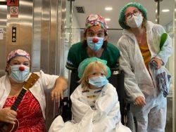 Payaso en el hospital