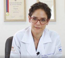 la Dra Gloria García habla de la importancia de la vacunación frente al rotavirus