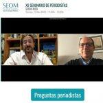Del Valle, de MSD y el presidente de la SEOM