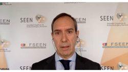 El doctor Escalada en la rueda de prensa de SEEN y la SEEDO sobre personas obesas en la pandemia