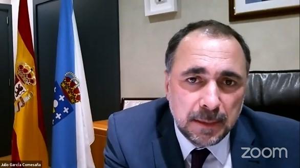 Julio García Comesaña, conselleiro de Sanidade de Galicia.