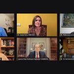 panelista en la fundación Bamberg sobre vacunas y fármacos