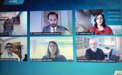 ponentes del encuentro Fein donde se subrayó que el COViD-19 pone en primer plano la tecnología sanitaria