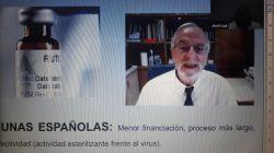 El virólogo lidera la vacuna española.