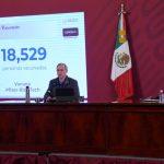 Información de la vacunación de coronavirus en México