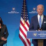 Joe Biden explica su plan para afrontar la pandemia,