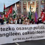 Movilizaciones en la Sanidad del País Vasco. Imagen de archivo