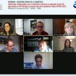 La webinar sobre las infecciones de las UCI en la primera ola pandémica