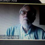 Mariano Sánchez Bayle portavoz de FADSP en la presentación del Informe de AE