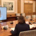 """El Ministerio de Sanidad y las asociaciones de pacientes establecen """"sinergias"""" de futuro. En la imagen, Carina Escobar."""