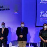 Expertos en gestión sanitaria analizan los efectos de la pandemia. Foto de la jornada de inauguración.