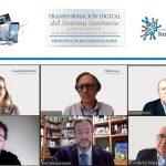 expertos hablando de la transformación digital en el SNS