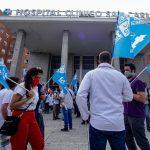 Foto de archivo. Los sindicatos sanitarios convocan una concentración en Madrid para el jueves