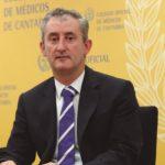 """La COVID-19 se ha cobrado la vida de 112 médicos """"en el ejercicio de su profesión"""". Foto de Tomás Cobo, presidente del CGCOM"""